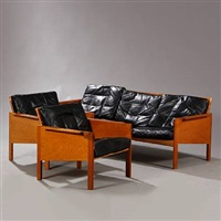 living room suite (set of 3) by kai kristiansen