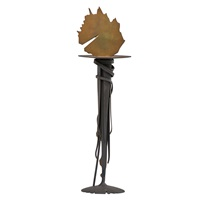 sunset candleholder by albert paley