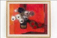 asetelma punaista vasten - stilleben mot rött by christina snellman