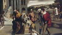 die rückkehr des verlorenen sohnes by bonifazio de pitati