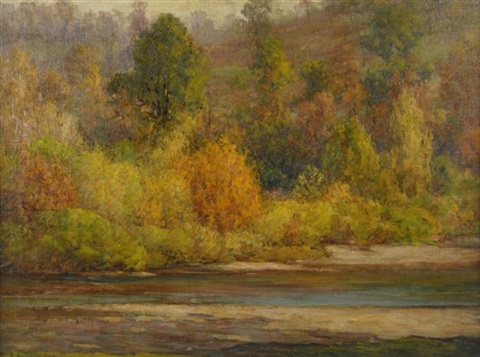 autumn brookville by john ottis adams