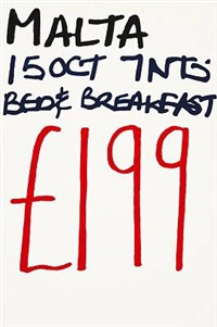 no. 661 (malta) from the series holiday paintings by jonathan monk