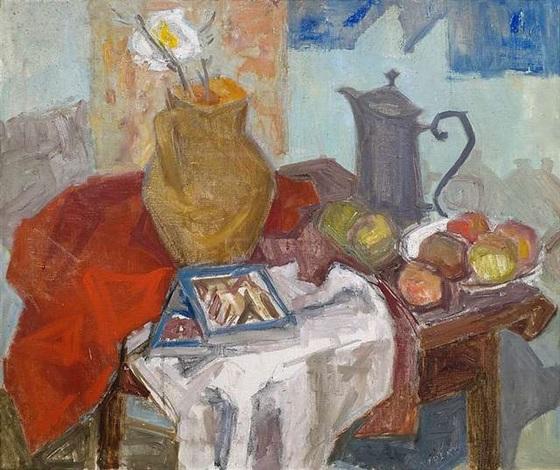 stillleben mit früchten by brigitta vidéky