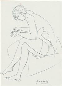 figura seduta by quinto martini