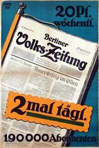 berliner volks-zeitung by martin lehmann-steglitz