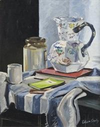 still life of a mason's jug (study) by eileen ganley