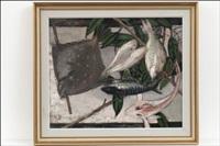 kala-asetelma - stilleben med fisk by christina snellman