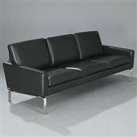 three-seater sofa firenze by o&m design (erik marquardsen and takashi okamura)