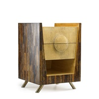 two-drawer end table by ria and youri augousti