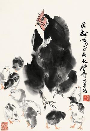 大吉图 chicken by huang zhou