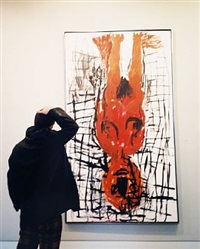 untitled (so this is modern art, georg!) (2 works) by jonathan monk