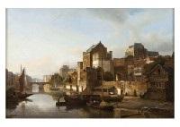 riverside town by kasparus karsen