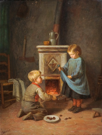roasting chestnuts by paul seignac