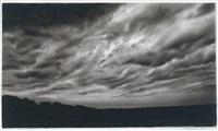 study for dark sky by robert longo