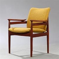 teak armchair by finn juhl