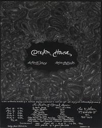 dream house (poster, collab. w/la monte yount) by marian zazeela