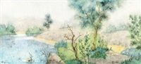 诸野no.12 (misty scenery no.12) by zeng jianyong