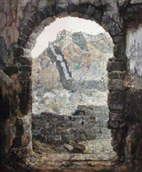 长城 (great wall) by li zhongliang