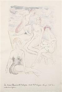 unold von kaltenquell (bk w/50 works, incl. title pg., various sizes, w/colophon & text) by rudolf grossmann
