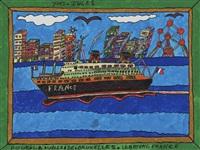 le bateau france by yves fleuri