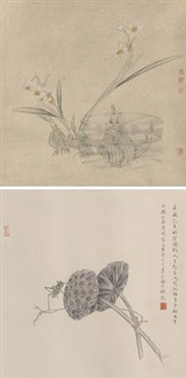 花卉 (2 works) by rao wei