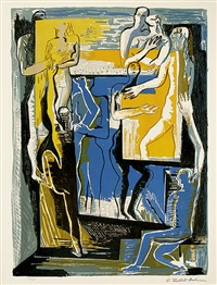 les marionettes by ossip zadkine