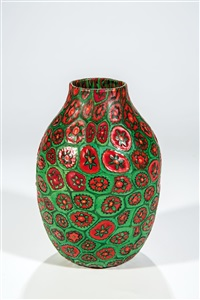 vase ''murrine'' by ermanno toso