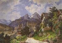 ansicht von berchtesgaden by friedrich wachsmann