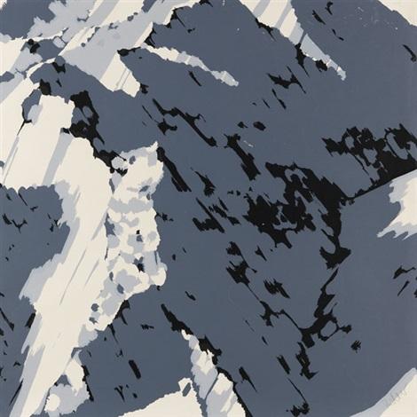 schweizer alpen i 3 works by gerhard richter