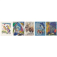 a vous cher ami, the joker, marseilles, anais and amour (set of 5) by henry miller