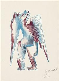 encore un oiseau by ossip zadkine