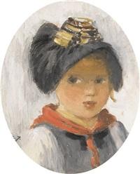 porträt eines walliser mädchens by sarah jeannot