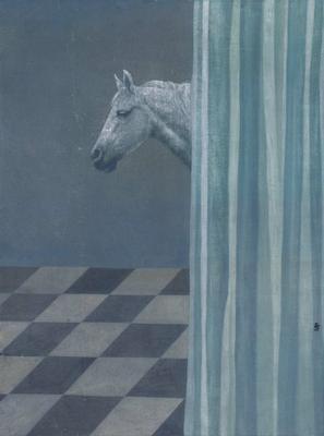 horse by xu lei