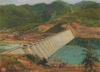 xinan river dam by qian ding