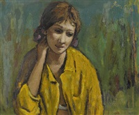 porträt einer frau by jeanne janebe (barraud pellet)
