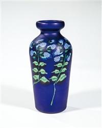 vase ''a murrine floreali'' by vetreria fratelli toso