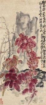 秋霜红叶 by zhao yunhe