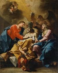 der tod des heiligen joseph by bartholomäus altomonte