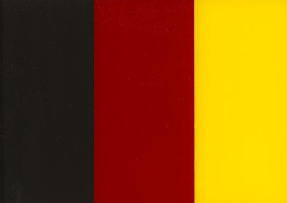 schwarz rot gold ii by gerhard richter