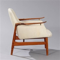 fj-53, easy chair by finn juhl