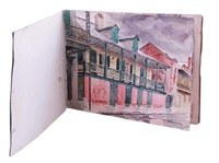 the artist's new orleans sketch book (bk w/3 works) by hattie saussy