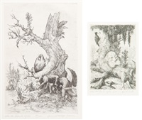 phantastische motive (22 works) by casper walter rauh
