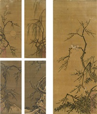 birds, flowers and landscapes (album) by ma yuan
