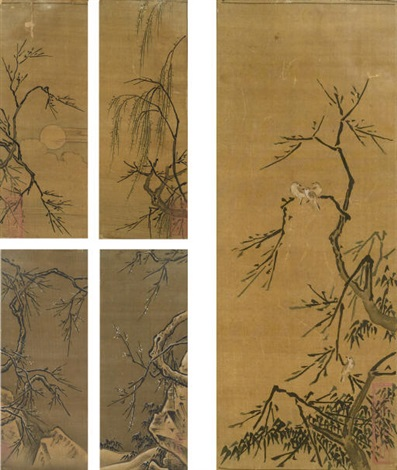 birds flowers and landscapes album by ma yuan