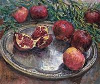 pomegranates by xu jianbai