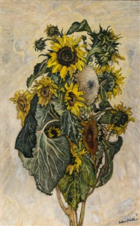 sonnenblumen by julius hüther