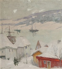 vinter i soon by karl johannes andreas adam dørnberger