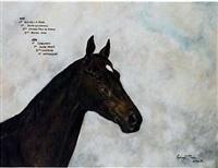 portrait du cheval