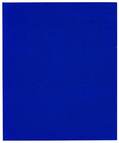 monochrome bleu ikb 242 a by yves klein on artnet. Black Bedroom Furniture Sets. Home Design Ideas
