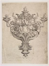 progetto per candeliere by orazio scoppa